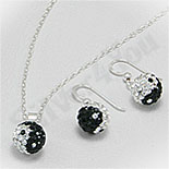 SETURI Pietre Semipretioase Set cristale albe si negre