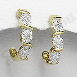 SETURI Argint, Zircon Si Pietre Set argint aurit si zircon alb
