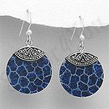 SETURI Pietre Semipretioase Set argint si coral albastru