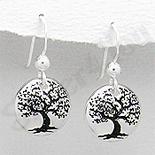 SETURI Argint Simplu Set argint copacul vietii