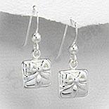 Cadouri Femei 1-8 Martie - Cercei argint model cu fundita - PF4034