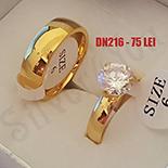 Set verigheta si inel cu zirconiu alb - DN216