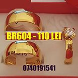 - Set inox 2 verighete si inel logodna - BR604