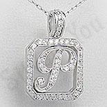 PANDANTIVE - Pandantiv argint litera - PF4262