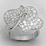 SETURI Argint, Zircon Si Pietre - Inel argint cu zirconii - PF4101