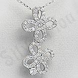 SETURI Argint, Zircon Si Pietre - Pandantiv fundita - PF4265