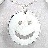 "PANDANTIVE - Pandantiv argint ""smiley face"" - PK1237"