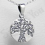 PANDANTIVE - Pandantiv argint copacul iubirii - PK1341