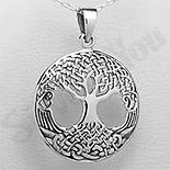 PANDANTIVE - Pandantiv argint copacul vietii medalion mare - PK1984