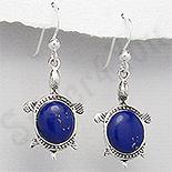 Cadouri Femei 1-8 Martie - Cercei argint testoase lapis lazuli albastru - PK2420