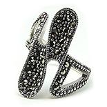 - Inel argint cu marcasit - I762