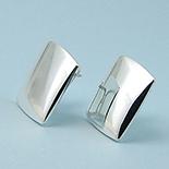 SETURI Argint Simplu - Cercei argint lucios - CST4A