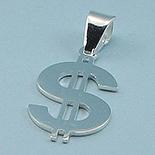 Bijuterii Argint - Pandantiv argint model dolar - PT3