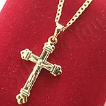 Cadouri Femei 1-8 Martie - Pandantiv cu lant in culoarea aurului 14K - ZS1306