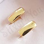 Cercei in culoarea aurului 14K - ZS1339
