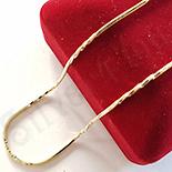 Lant in culoarea aurului 14K zirconii albe - ZS1418