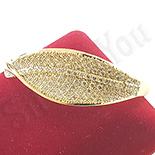 Bratara in culoarea aurului 14K zirconii albe - ZS1519