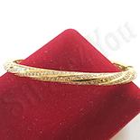 Bratara in culoarea aurului 14K zirconii albe - ZS1521