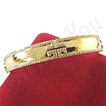 BRATARI - Bratara in culoarea aurului 14K zirconii albe - ZS1523
