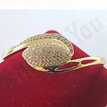 BRATARI - Bratara in culoarea aurului 14K zirconii albe - ZS1525