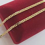 Lant aurit cu aur de 14K - 45 cm - ZS1696