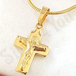 Crucifix inox cu lant inclus - BV132A