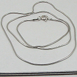Lant argint cu rodiu - 44.5 cm/1 mm - LT54