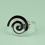 SETURI Argint Simplu - Inel argint model spirala - IS409