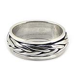 Bijuterii Argint - Inel barbat din argint model antistres - IO235