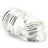 CERCEI - Cercei argint model creponat - CO3