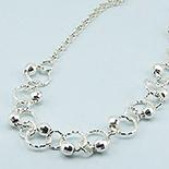 - Colier argint cu bilute - LK51