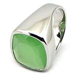 SETURI Pietre Semipretioase - Inel argint si milky verde - IK132
