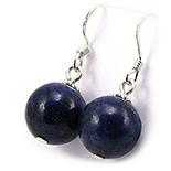 SETURI Pietre Semipretioase - Cercei argint cu lapis lazuli - CF43