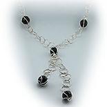 Cadouri Femei 1-8 Martie - Lant argint  cu cristal - LO801