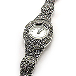 CEASURI Argint - Ceas cu marcasite - D8