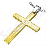 """Pandantive crucifix - Pandant inox cruce rugaciune """" Tatal Nostru"""" - BF1248"""