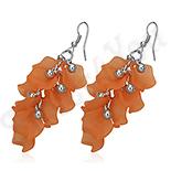 CERCEI - Cercei fashion portocalii supradimensionati - BF1204