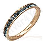 INELE - Inel inox aurit cu aur roz - BF2552