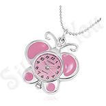 CEASURI Fashion - Ceas fashion fluture roz - BK1020