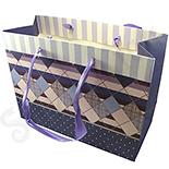 Cutii Bijuterii - Punga cadou nuante roz mov - BG6034