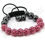 BRATARI - Bratara shamballa cristale roz - BR6000