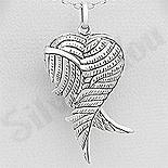 - Pandantiv argint patinat casetuta aripi inger - AR197