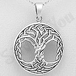 PANDANTIVE - Pandantiv argint patinat copacul vietii - AS138