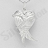 Bijuterii cu Mesaj - Pandantiv argint casetuta aripi de inger - AS189