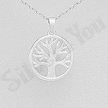 """Cadouri Femei 1-8 Martie - Pandantiv argint """"copacul vietii"""" - AS154"""