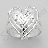 INELE - Inel argint aripi de inger - AS158