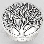 "INELE - Inel argint patinat ""copacul vietii"" - AS159"