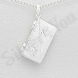 PANDANTIVE - Pandantiv argint casetuta plic - AS167