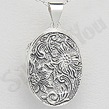 - Pandantiv argint casetuta ovala - AS170