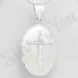 - Pandantiv argint casetuta cu cruce - AS183